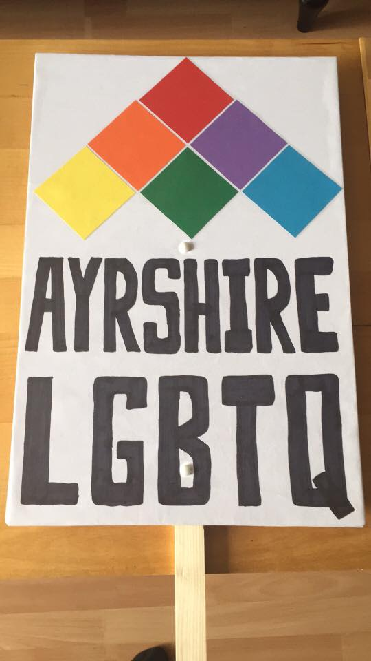 Pride Banners with our new logo
