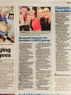 We made the papers!