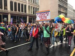 Walking the streets, Pride 2017