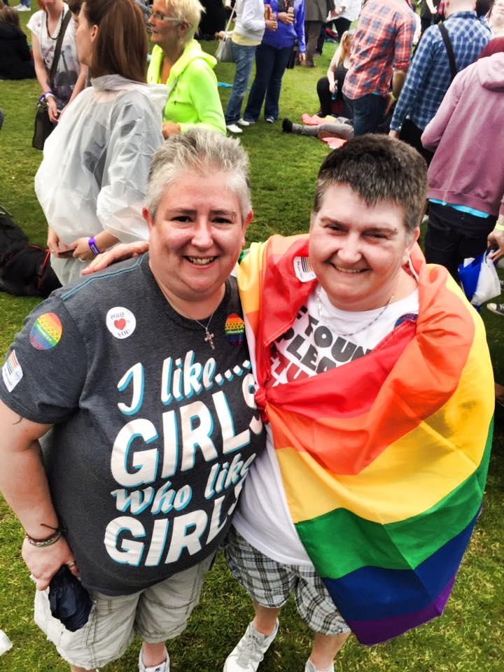 I like Girls at Glasgow Pride!
