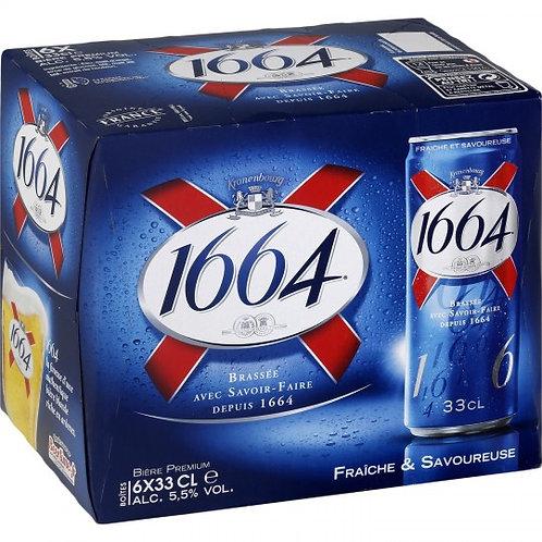 1664 33cl (Pack de 6)