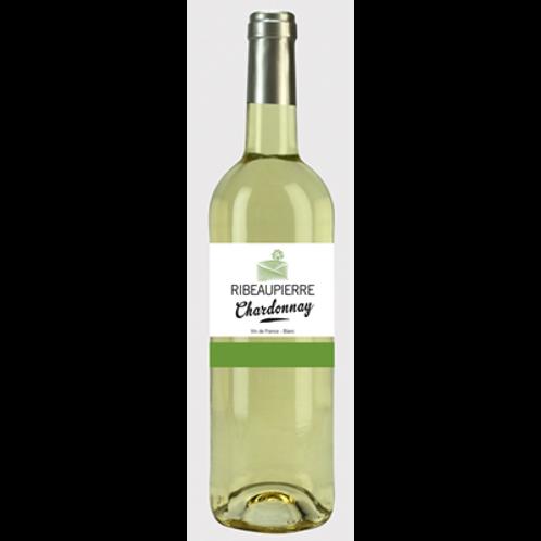 Vin de France Chardonnay Ribeaupierre 75 cl