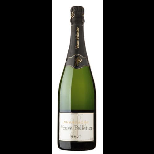 Champagne brut Veuve Pelletier 75 cl