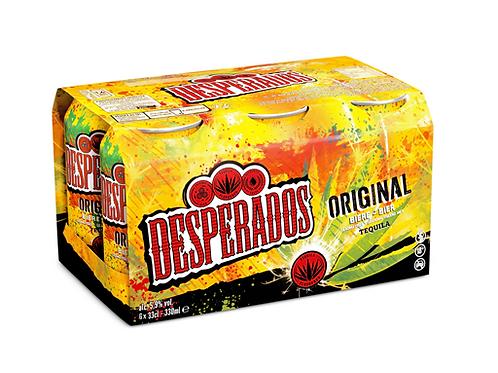 DESPERADOS 33 cl (Pack de 6)