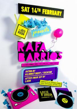 The Bedroom pres. Rafa Barrios
