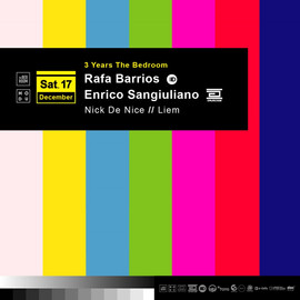 3 Years The Bedroom with Enrico Sanguiliano & Rafa Barrios