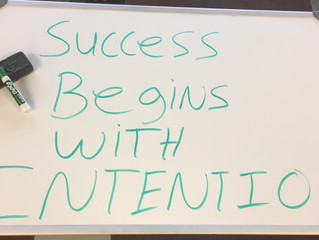 Whiteboard Wisdom: Success Begins with Intention