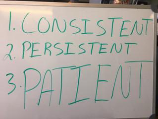 Whiteboard Wisdom: Three Keys to Success