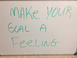 Whiteboard Wisdom: Goals are important