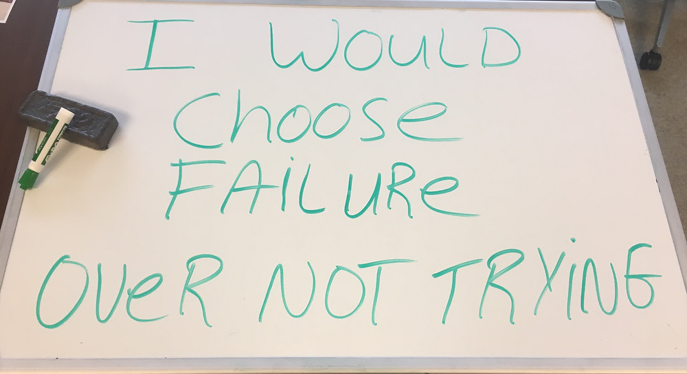 Whiteboard wisdom is a quick and easy reminder to help people chase their dreams.  These are motivational, inspirational, and most importantly the truth.  Go get your goals.