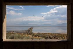 Antelope Island, Great Salt Lake, Utah.