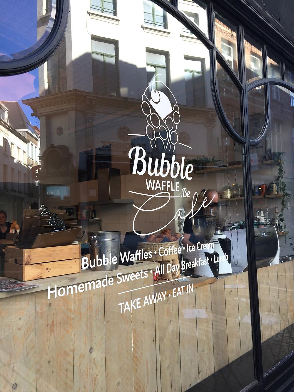 Bubble Waffle Café - Ordinary Brussels