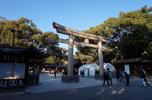 At Meiji Jingu
