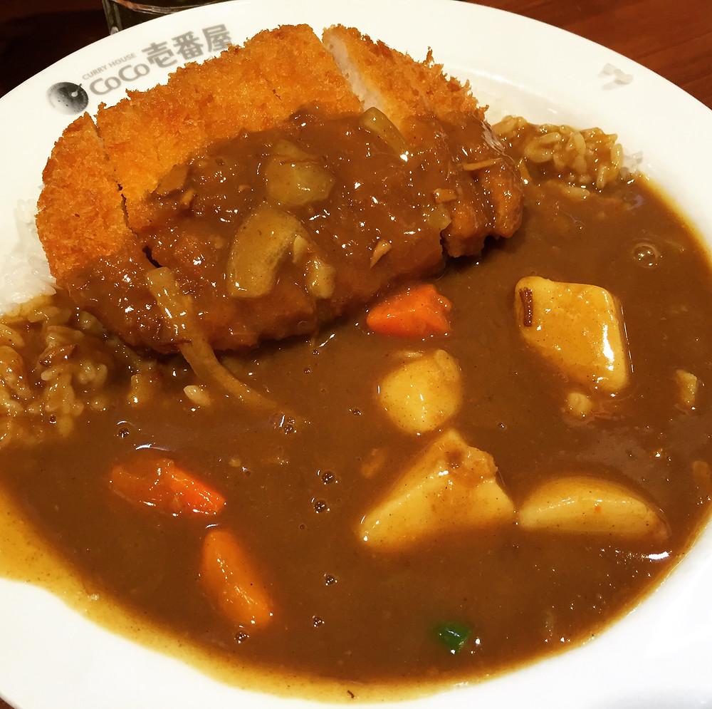 First dinner in Tokyo