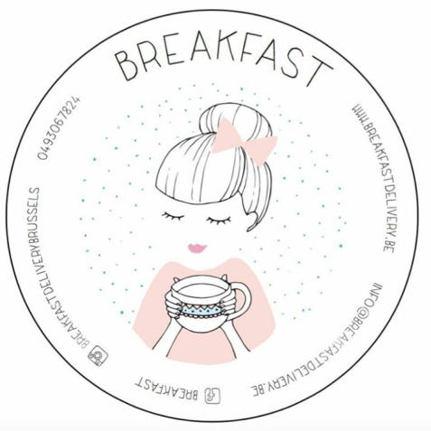 Breakfast Delivery Brussels logo and contact