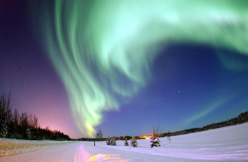 Northern Lights from Freepik