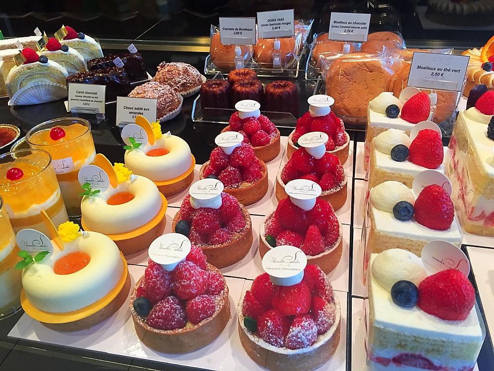 Smaller cakes from Yasushi Sasaki's Patisserie