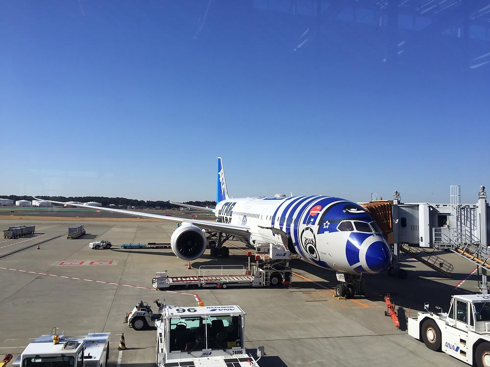 My Star Wars themed plane