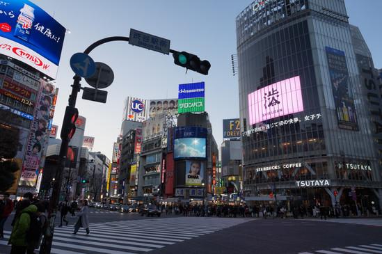 View from Shibuya