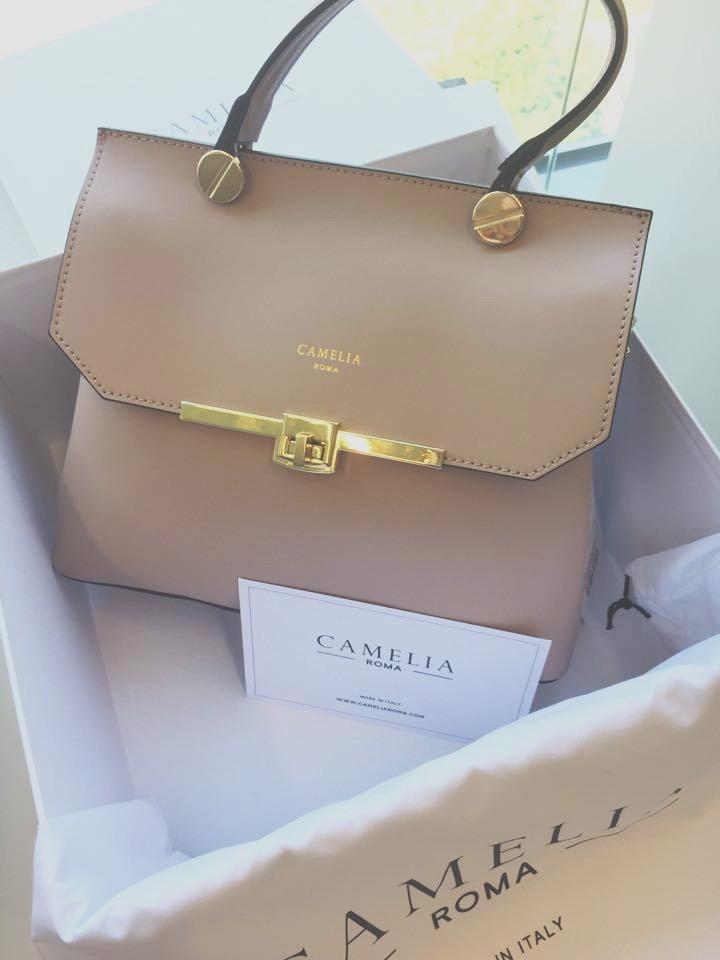 Camelia Leather Handbag - Ordinary Brussels