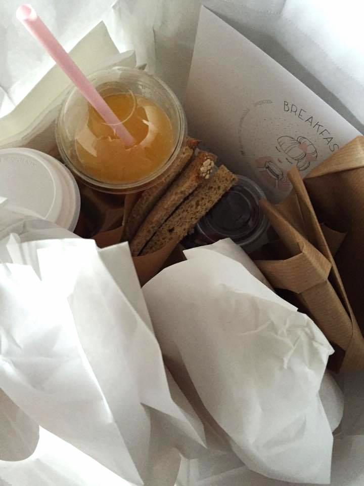 Simple Breakfast Bag