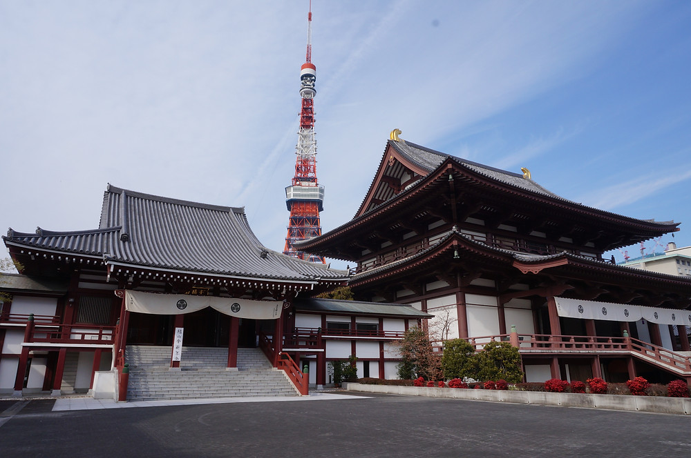 A shrine with the Tokyo Tower - Ordinary Brussels