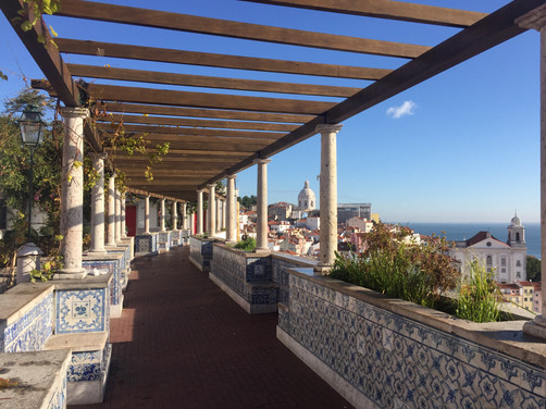 Terrace with a view