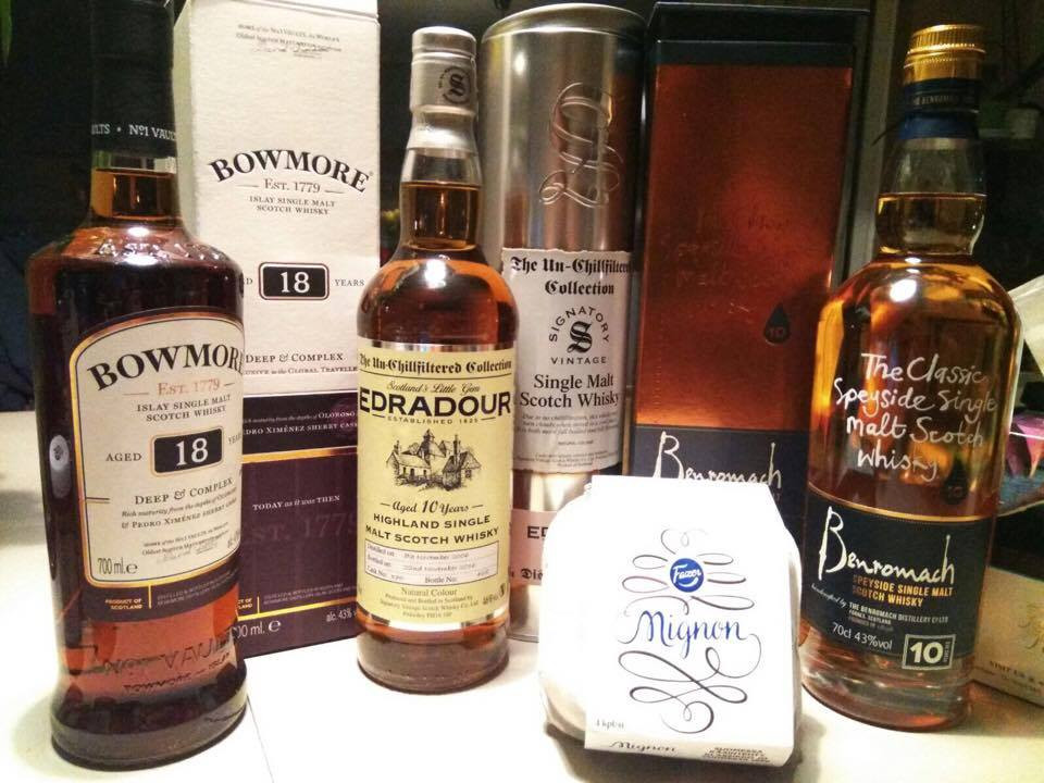 My new whisky bottles - Ordinary Brussels - Lifestyle and Food in Brussels