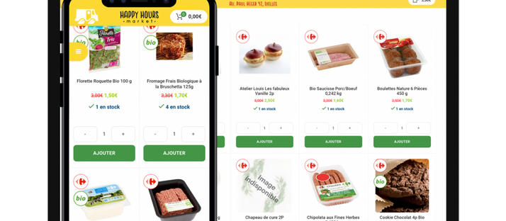 Smart Grocery Shopping with Happy Hours Market!