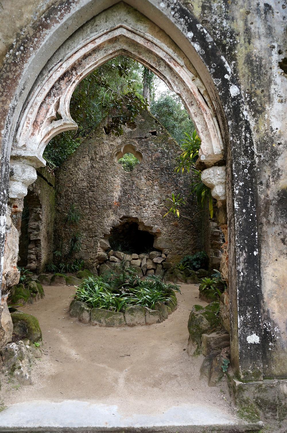 Ruins around the property