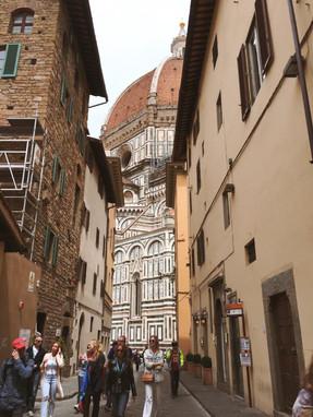 A Glimpse of the Duomo