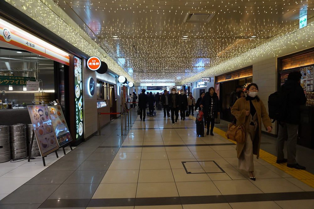 Into Ramen Street at Tokyo Station - Ordinary Brussels
