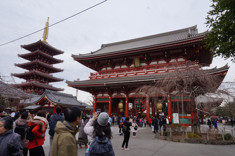 At Senso-Ji