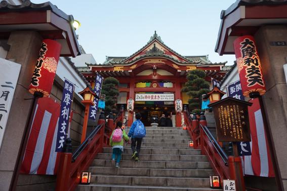 Colorful temple in Ameyoko
