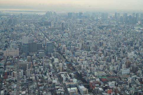 View from the Tokyo SkyTree Tower