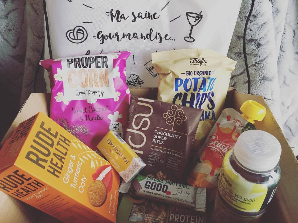Snackies Box from January - Ordinary Brussels - Lifestyle & Food in Brussels