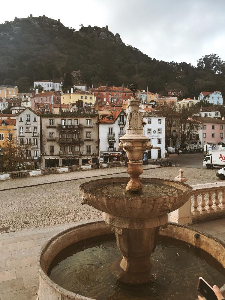Sintra's historic center