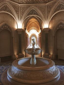 Inside Monserrate Palace