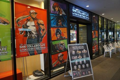 Anime Café at Tokyo SkyTree