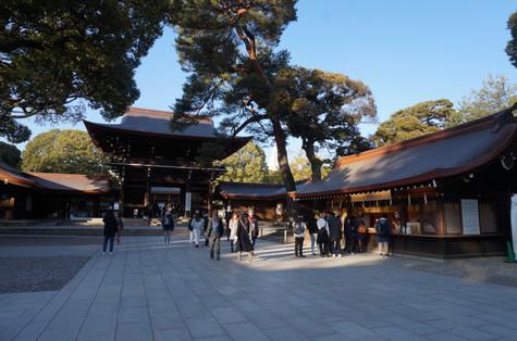Inside Meiji Jingu