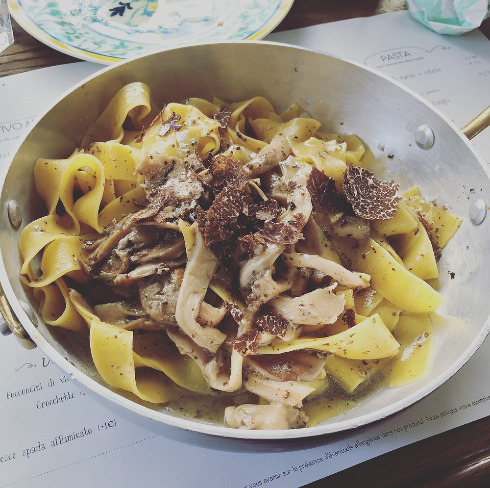 My delicious pappardelle - Odinary Brussels