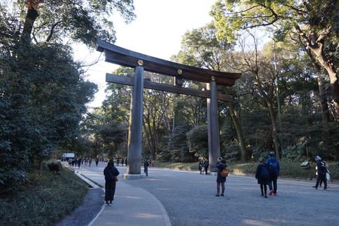 Visiting Meiji Jingu