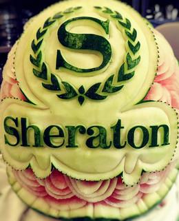 Melon d'eau sculpté Sheraton.jpg