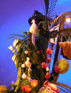 Pièce Montée, fruits et légumes sculptés