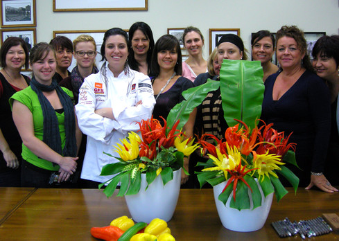 Activité Team Building Ornementations Culinaires _groupe corporatif