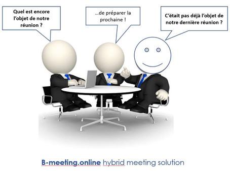 La tendance des réunions hybrides...Une assemblée générale distante ne s'improvise pas.