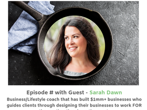 Discovering Self-Worth and Self-Love to Conquer Burnout with Sarah Dawn