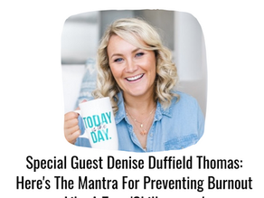 Denise Duffield Thomas: Here's Her Mantra For Preventing Burnout Like A True 'Chillpreneur'