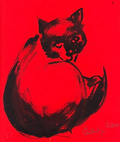 莉娜閻王的寫意绘画, 2005 年