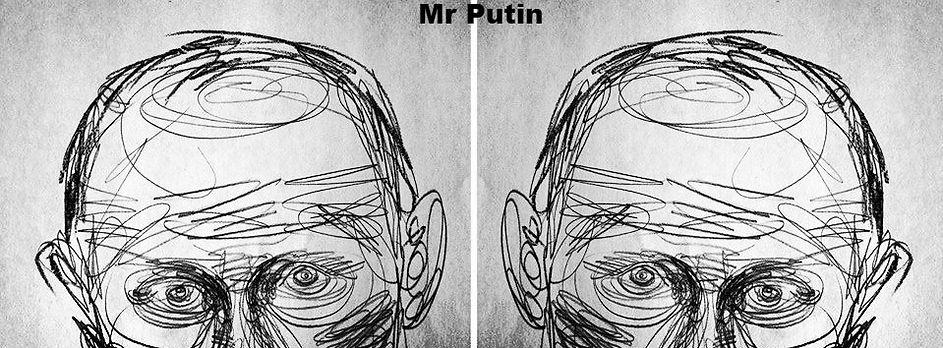 Vladimir Putin by Lena Hades